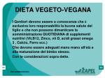 dieta vegeto vegana