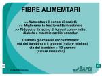 fibre alimemtari