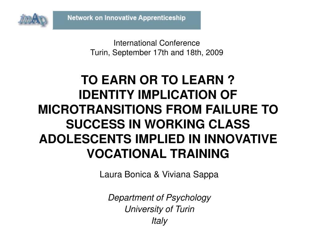laura bonica viviana sappa department of psychology university of turin italy l.