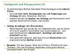ambiguit t und interpretation 3