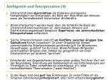 ambiguit t und interpretation 4