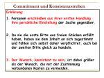 commitment und konsistenzstreben46