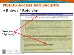 nslds access and security4