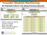 transfer student monitoring12