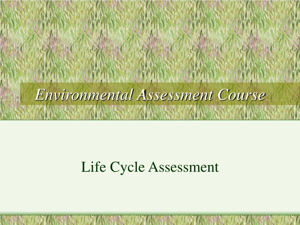 environmental assessment course l.