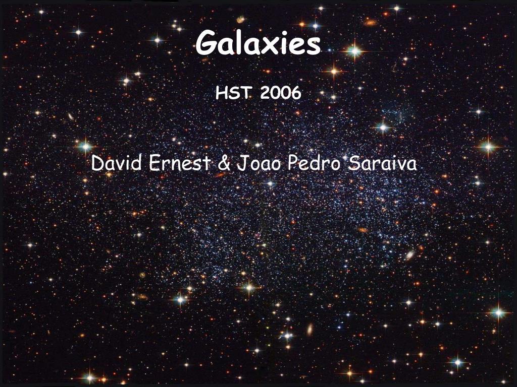 galaxies hst 2006 l.