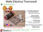 malla el ctrica thermosoft