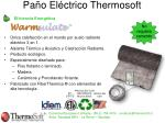 pa o el ctrico thermosoft