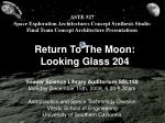 return to the moon looking glass 204