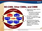 bd cmm other cmms and cmmi