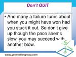 don t quit48