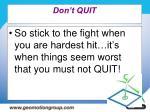 don t quit50
