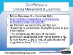 geofitness linking movement learning41