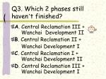 q3 which 2 phases still haven t finished