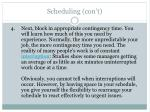scheduling con t34
