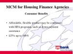 mcm for housing finance agencies5