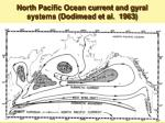 north pacific ocean current and gyral systems dodimead et al 1963