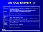 ais gqm example 2