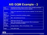 ais gqm example 3