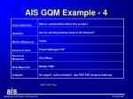 ais gqm example 4