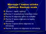 mjerenje i nadzor u inka lijekova ramsay scale