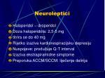 neuroleptici