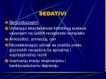sedativi