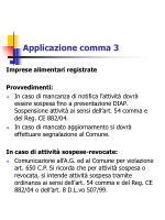 applicazione comma 3