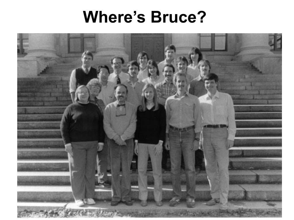 Where's Bruce?