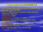 terenski eksperiment26