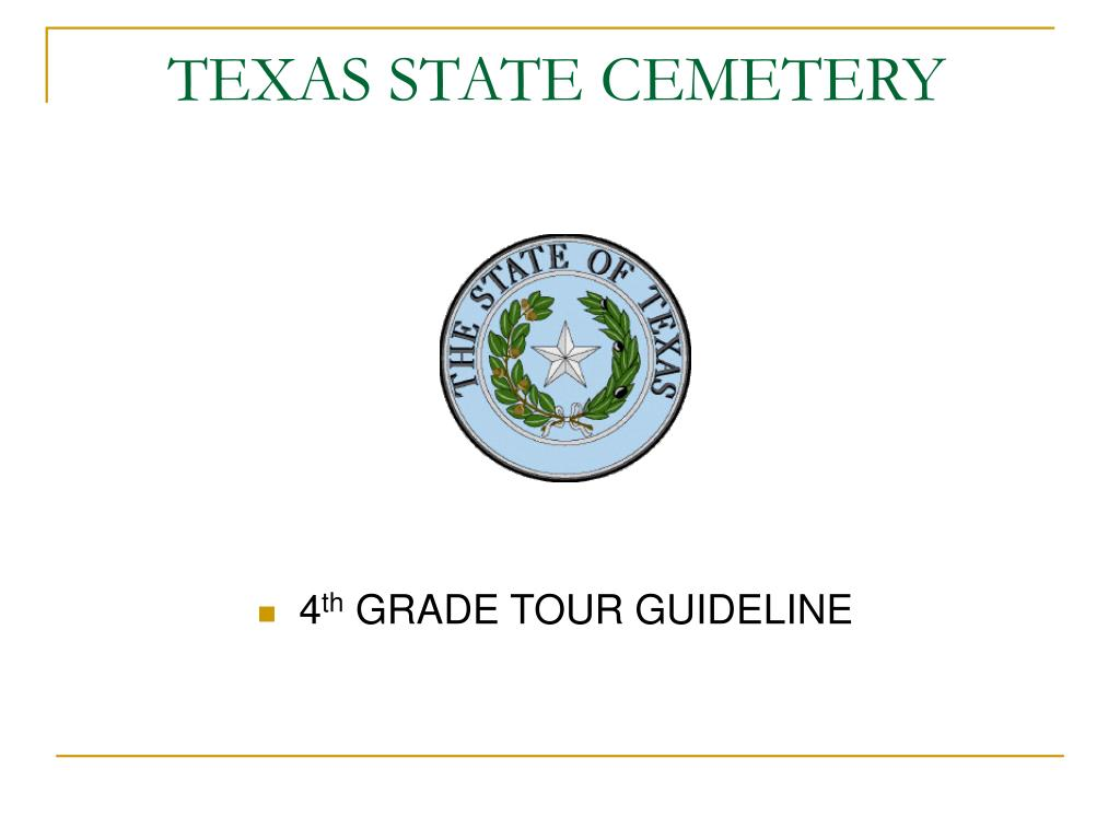 texas state cemetery l.