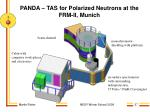 panda tas for polarized neutrons at the frm ii munich37