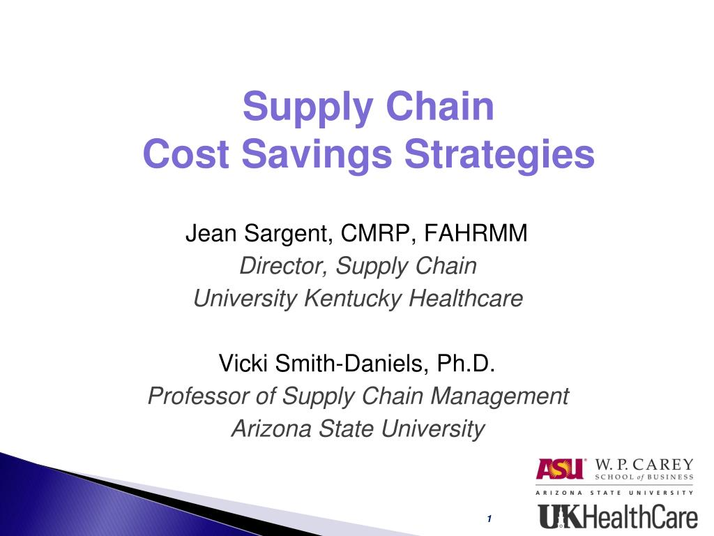 supply chain cost savings strategies l.
