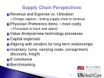 supply chain perspectives