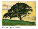le pin saint tropez by paul signac