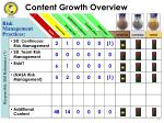 content growth overview17