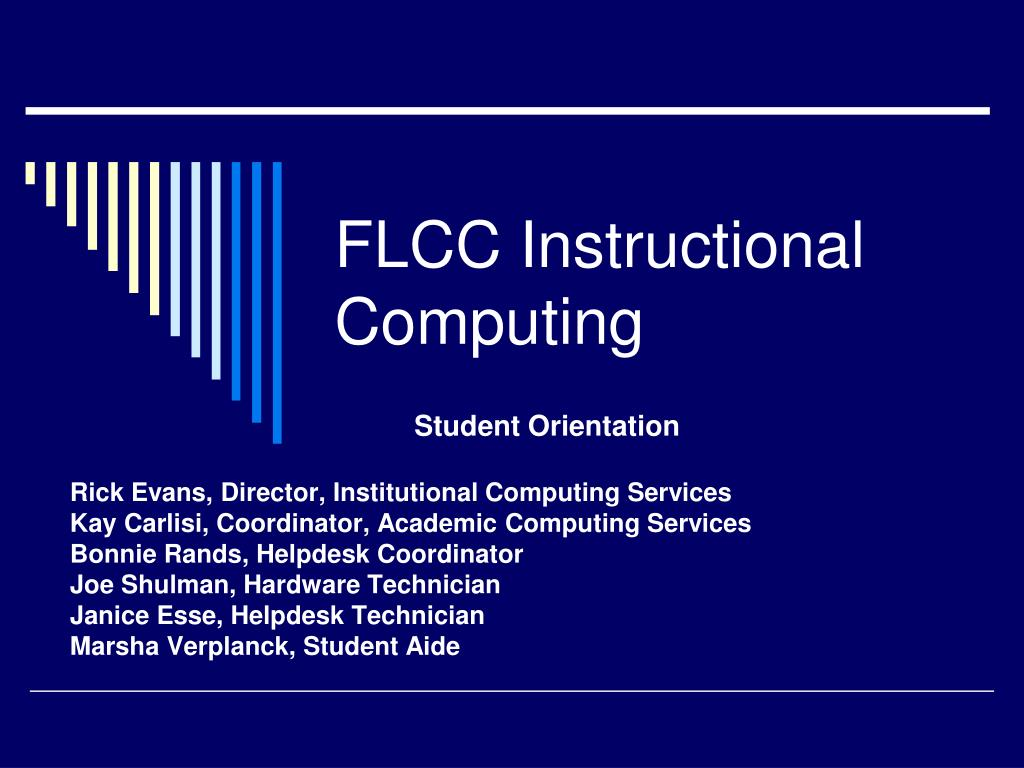 flcc instructional computing l.