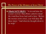the power of the memory of jesus christ49