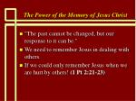the power of the memory of jesus christ54