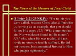 the power of the memory of jesus christ55