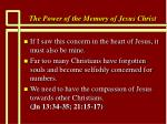 the power of the memory of jesus christ60