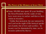 the power of the memory of jesus christ73