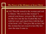 the power of the memory of jesus christ82