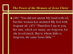the power of the memory of jesus christ83