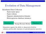 evolution of data management25