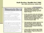 heath bunting readme html 1998 http www irational org readme html