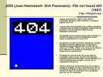 jodi joan heemskerk dirk paesmans file not found 404 1997 http 404 jodi org