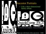 ancestor portraits