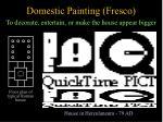 domestic painting fresco