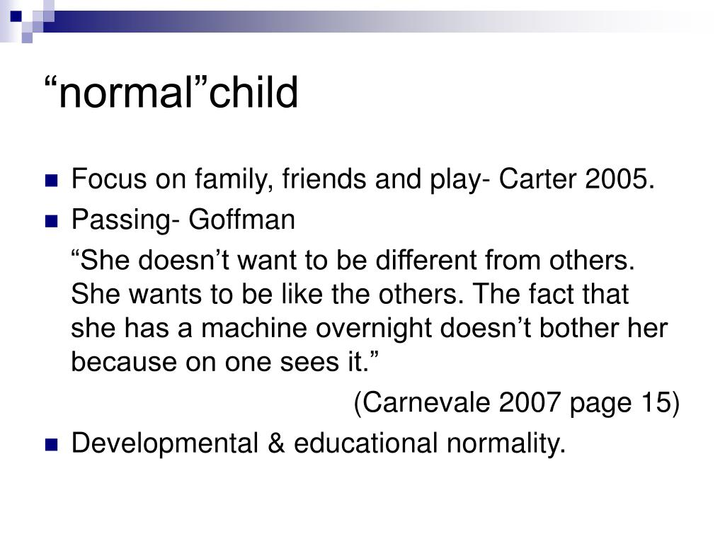"""normal""child"